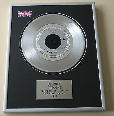 BLONDIE Dreaming PLATINUM SINGLE DISC PRESENTATION