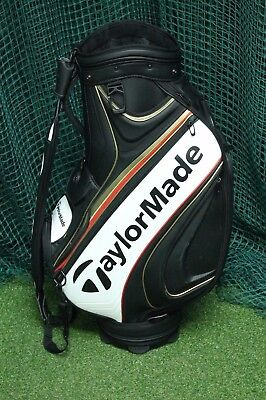Taylormade Tour Staff 2016 Bag / Black Gold Red / 6-Way Divider / Tagtou006