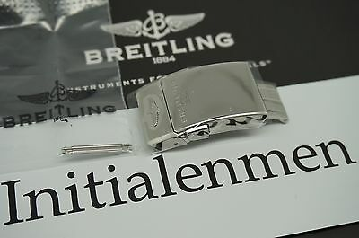 Breitling 20MM STEEL DEPLOYMENT BUCKLE 100% ORIGINAL & NEW PRO DIVER OCEAN 20 mm