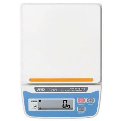 A&D Weighing HT-500 Compact Scales 510g x 0.1g Incl Carry Case