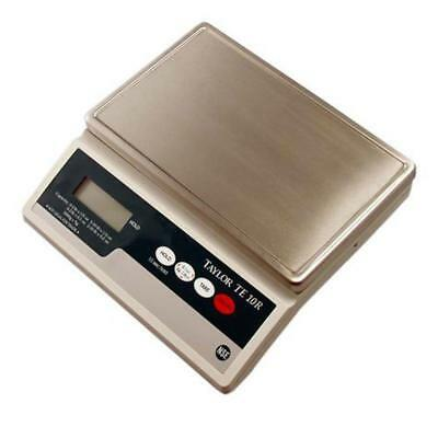 Taylor TE10R Digital 10 Pound Portion Scale with S/S Platform