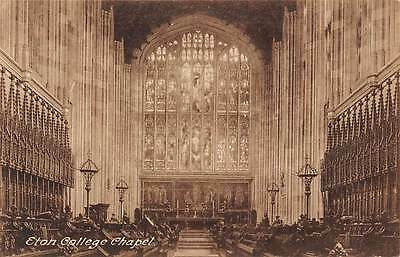 Eton College Chapel Interior view
