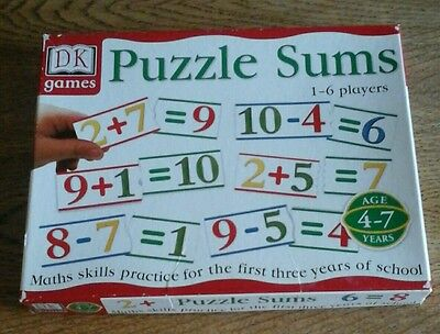 Puzzle Sums Game