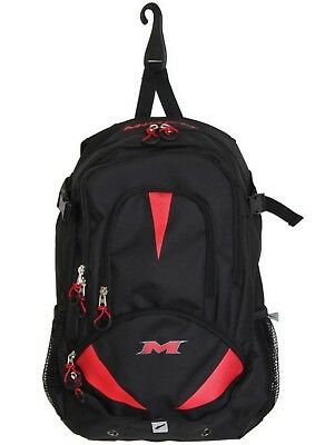 (13 x 25cm  x 50cm , Black/Red) - Miken Freak Backpack. Free Shipping