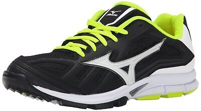 (6.5 B(M) US, Black|white) - Mizuno Women's Players Training Shoe