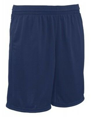 (Small, Navy) - Youth Trainer Coaches Short. Teamwork. Free Delivery