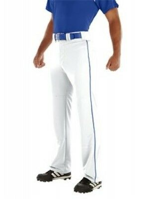 (Large, White/Royal Blue) - Youth Relay 500ml Piped Pant. Teamwork