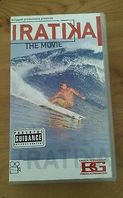 Iratika classic rare old Surfing VHS Video