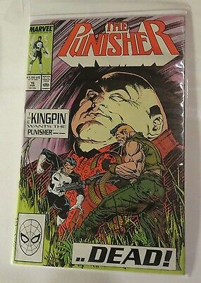 The Punisher #16 Marvel Comics  Copper Age  CB1974