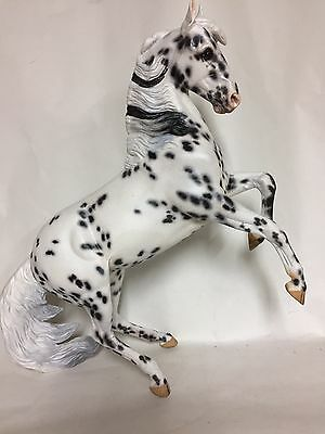 Breyer Custom Painted Desatado to Leopardy Appy - NAN qalified