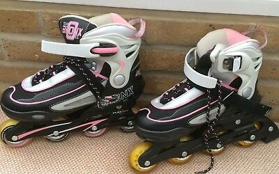Roller blades - Pink and black