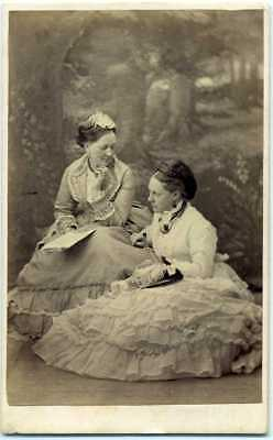 Lovely CDV of Mother and Daughter- ID'd- Lyndhurst