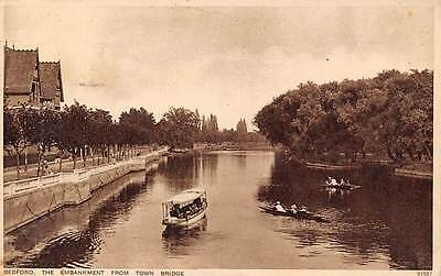 Bedford The Embankment from Town Bridge River