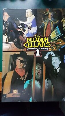 RARE - Original souvenir programme of the Palladium Cellars from the 1980s