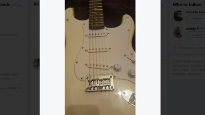 Squier By Fender Bullet Strat ELECTRIC Guitar NEW CONDITION - Arctic White