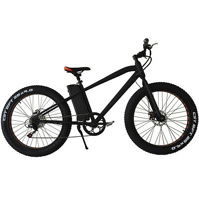 "26"" ELECTRIC BIKE x 250W x 6 speed gear Ebike CRUISER with 36v Lithium battery"