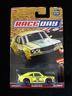 2017 Hot Wheels Car Culture RACE DAY - MAZDA RX3 >> *6 cars posted for $6!