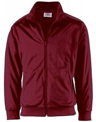 (X-Large, Maroon) - Youth Radiance Warmup Jacket. Teamwork. Free Delivery
