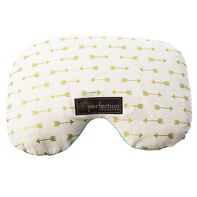 (Gold and White) - Perfection Collection Migraine Relief Eye Pillow Masks,