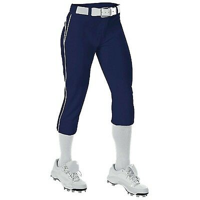(90cm  - 100cm W X 60cm L, Navy/White) - Alleson Athletic Women's Belted