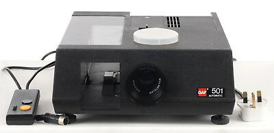 GAF 501 automatic 35mm Slide Projector (2427)