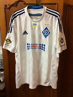 Dynamo Kyiv Shirt Matchworn Dragovic #6 Basel Suisse Bayer Leverkusen Leicester