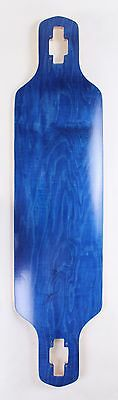 """40"""" x 9.5"""" Drop Through Canadian Maple Blue Stained"""