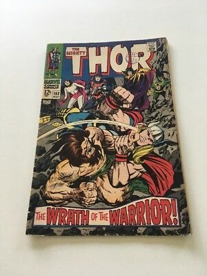 The Mighty Thor #152 Comic Book