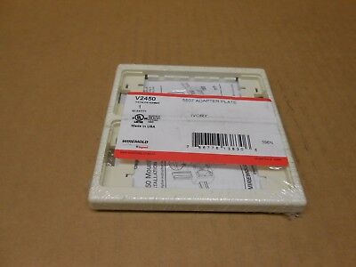 1 Nib Wiremold V2450 Adapter Plate Ivory