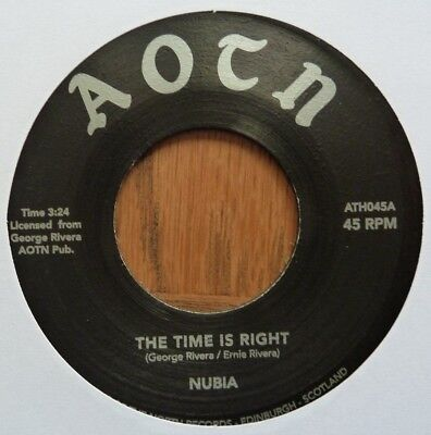 "Nubia - The Time Is Right/feeling Funky - 7"" Vinyl"
