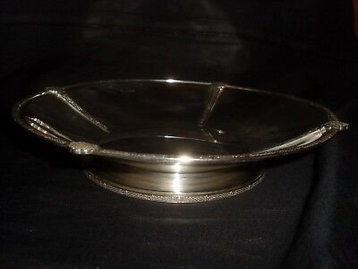 Celtic Sterling Silver Bowl 440g Hallmarked Cooper Bros. & Sons 1963 No Reserve
