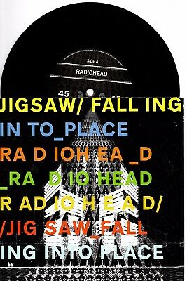 "Radiohead - Jigsaw Falling Into Place - 7"" Vinyl Record Ex Condition"