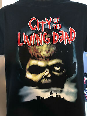 City of The Living Dead T-shirt fulci zombies walking dead