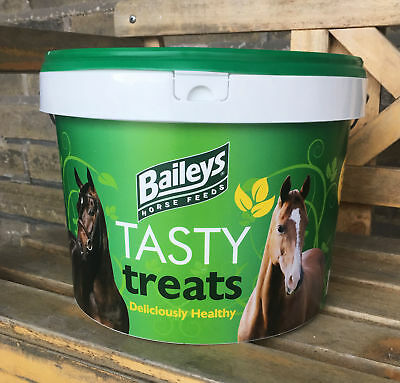 5kg Tub Baileys Tasty Treats - Low Calorie Healthy Herbal Horse Training Rewards
