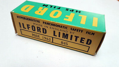 Ilford Hps Film 620 Hypersensitive Panchromatic Safety Neuf/unsealed Mars 1963