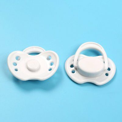 Dummy Magnetic Pacifier For Reborn Baby Internal Magnet Dolls Accessories White
