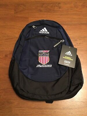 USA Rugby Eagles All American Official Team Backpack Player Issue Adidas