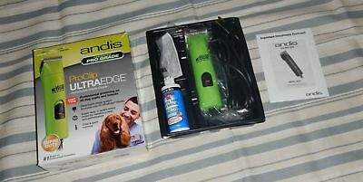 Andis AGC2 GREEN 2-speed dog clipper Pro Clip 22585 #10 blade oil UL