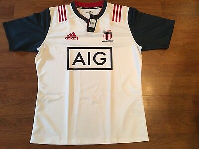 USA Rugby Eagles All American Game Jersey Official Player Issue Adidas XXL