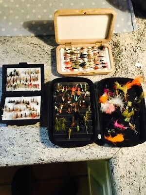 Fly Boxes And Flies
