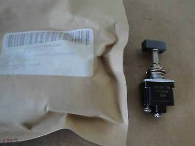 Mil Spec Micro Switch 1TL1-1M - SPDT Locking Action Toggle Switch On-Off On