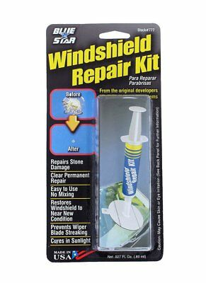 Auto Windshield Repair Kit Chips Crack Glass Resin Sealer Car Window Fix Tool