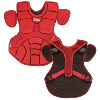 (Red) - TAG Pro Series Womens / Teen Body Protector (TBP 702). Free Shipping