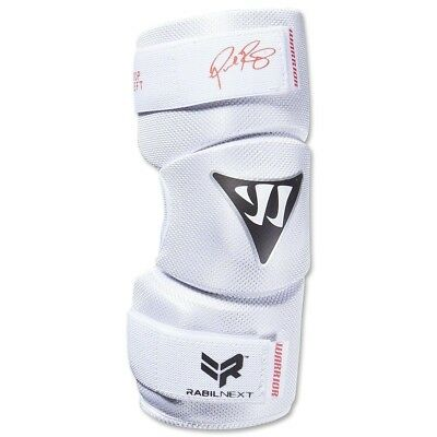 (Large, White) - Warrior Youth Rabil NXT Arm Pad. Shipping Included