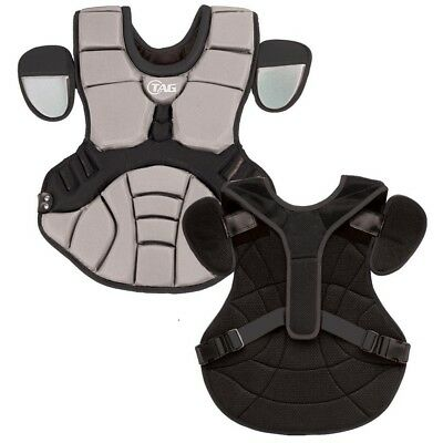 (Grey Black) - TAG Pro Series Womens / Teen Body Protector (TBP 702). Best Price