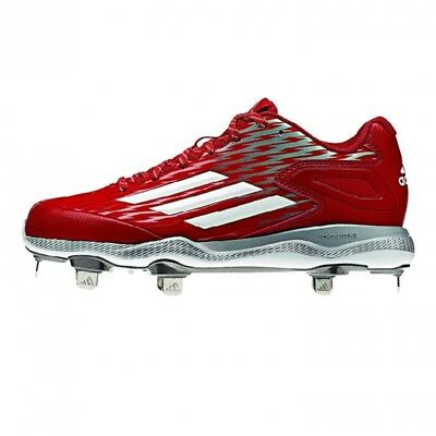 (8 B(M) US, Power Red/white/grey Metallic) - adidas Performance Women's