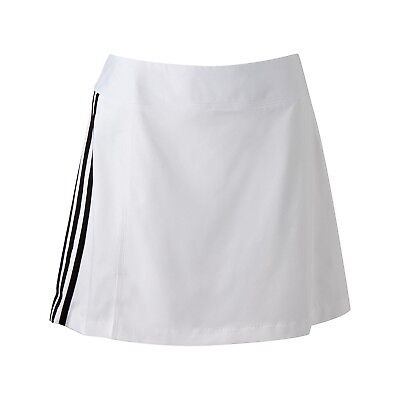 (14, White) - adidas Women's Climacool 3-Stripes Skort. Best Price