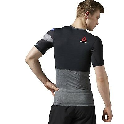 (Large) - Reebok One Series Activc Hill Compression Men's Training Shirt