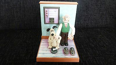 Vintage Retro 1996 Wallace & Gromit Talking Lounge Radio Alarm Clock By Wesco