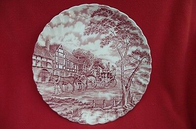 Myott Staffordshire Ware Royal Mail Plate